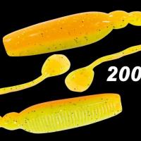 """Силиконовая приманка """"Volzhanka Sexy Bleak 90"""" цвет 2007 (в упак. 6шт)"""