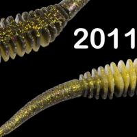 """Силиконовая приманка """"Volzhanka Tailed Worm 130"""" цвет 2011 (в упак. 6шт)"""
