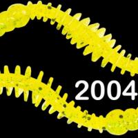 """Силиконовая приманка """"Volzhanka Goauld 80"""" цвет 2004 (в упак. 8шт)"""