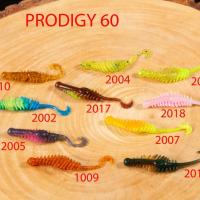 """Силиконовая приманка """"Volzhanka Prodigy 60"""" цвет 2007 (в упак. 10шт)"""