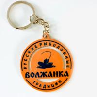 "Брелок металл ""LOGO"", круглый"